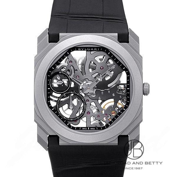 ブルガリ BVLGARI オクト フィニッシモ スケルトン BGO40TLXTSK 新品 時計 メンズ