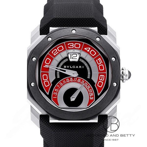 ブルガリ BVLGARI オクト バイレトロ ジェラルド・ジェンタ BGO43C9SCVDBR 新品 時計 メンズ