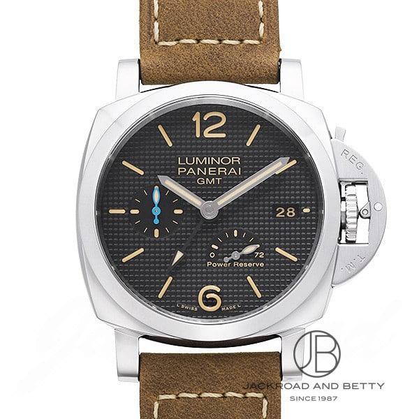 パネライ PANERAI ルミノール 1950 3デイズGMT パワーリザーブ アッチャイオ PAM01537 新品 時計 メンズ