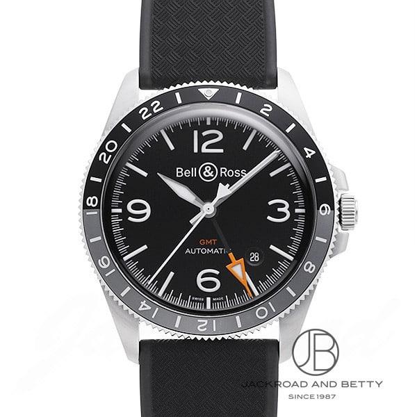 ベル&ロス BELL&ROSS BRV2-93 GMT 24H オートマティック BRV293-BL-ST/SRB 【新品】 時計 メンズ