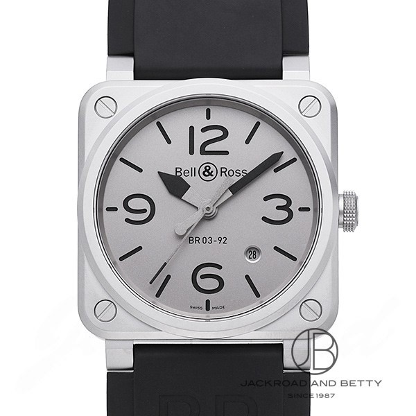 ベル&ロス BELL&ROSS BR03-92 ホロブラック リミテッド BR0392-GBL-ST/SRB 【新品】 時計 メンズ