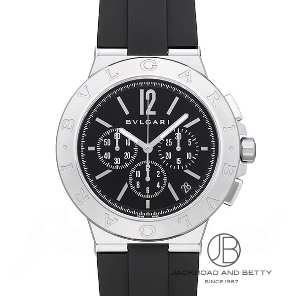 ブルガリ BVLGARI ディアゴノ ヴェロチッシモ DG41BSVDCH 【新品】 時計 メンズ