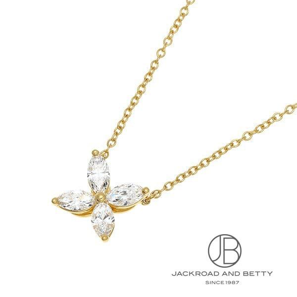 ティファニー TIFFANY&Co. ビクトリア ダイヤモンド ネックレス YG 60572372 【新品】 ジュエリー ブランドジュエリー