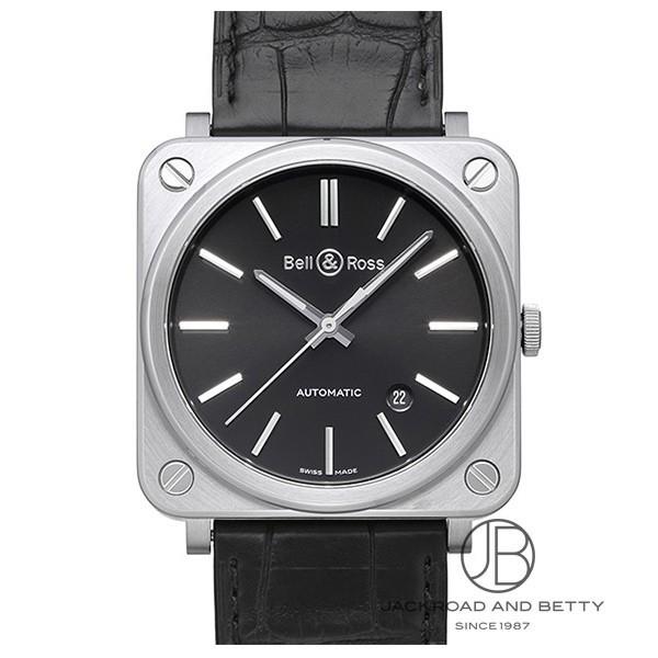 ベル&ロス BELL&ROSS BR S-92 ブラックスチール BRS92-BL-ST 【新品】 時計 レディース