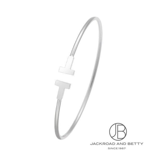 ティファニー TIFFANY&Co. Tナローワイヤーブレスレット M 33430175 新品 ジュエリー ブランドジュエリー