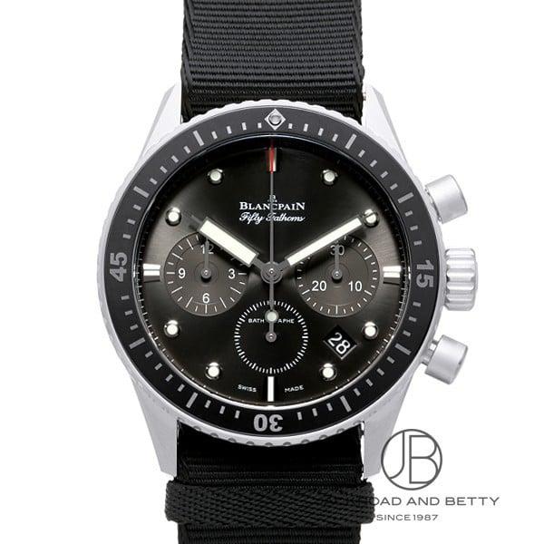 ブランパン BLANCPAIN フィフティー ファゾムズ バチスカーフ フライバック クロノグラフ 5200-1110-NABA 新品 時計 メンズ