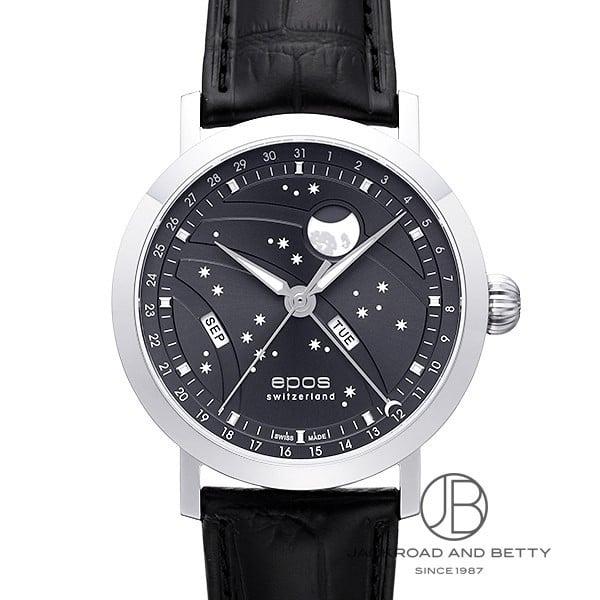 エポス EPOS ナイトスカイ ビッグムーン 3440GY 新品 時計 メンズ