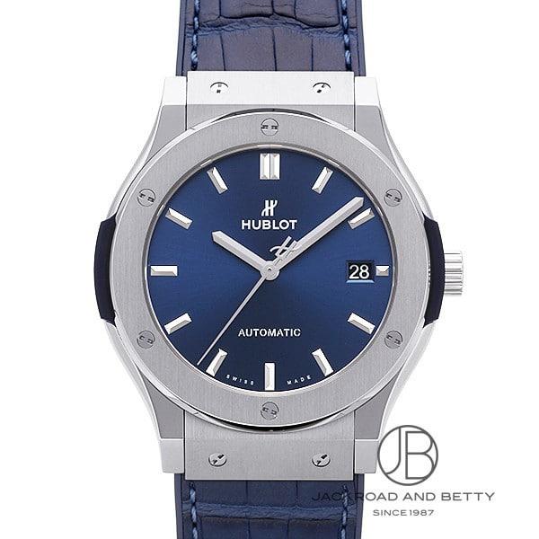 ウブロ HUBLOT クラシック フュージョン チタニウム ブルー 511.NX.7170.LR 新品 時計 メンズ