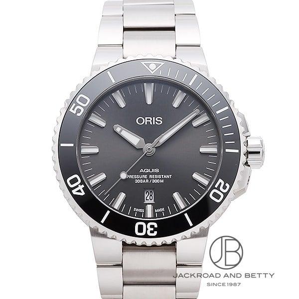 オリス ORIS アクイス デイト チタニウム 733 7730 7153M 新品 時計 メンズ