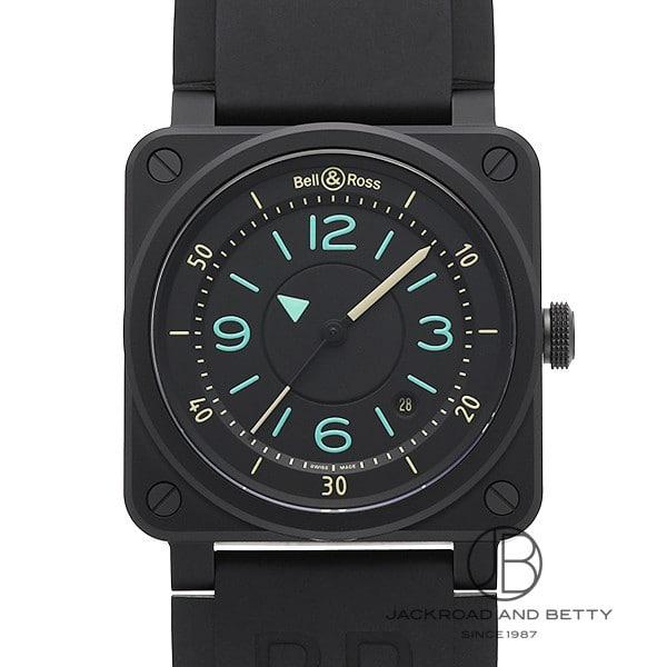 ベル&ロス BELL&ROSS BR03-92 バイ コンパス リミテッド BR0392-IDC-CE/SRB 新品 時計 メンズ