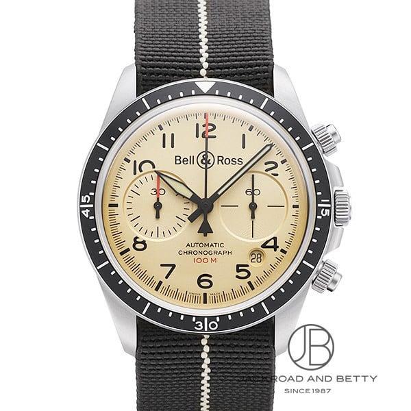 ベル&ロス BELL&ROSS BRV2-92 ミリタリー ベージュ クロノグラフ BRV294-BEI-ST/SF 新品 時計 メンズ