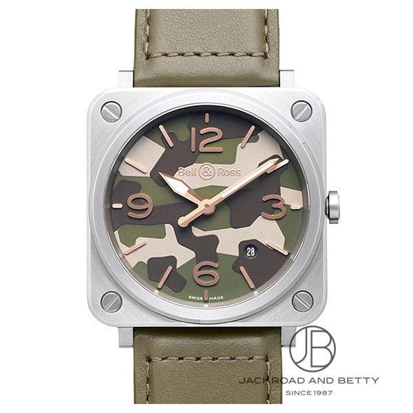 ベル&ロス BELL&ROSS BRS グリーン カモ BRS-CK-ST/SCA 新品 時計 レディース