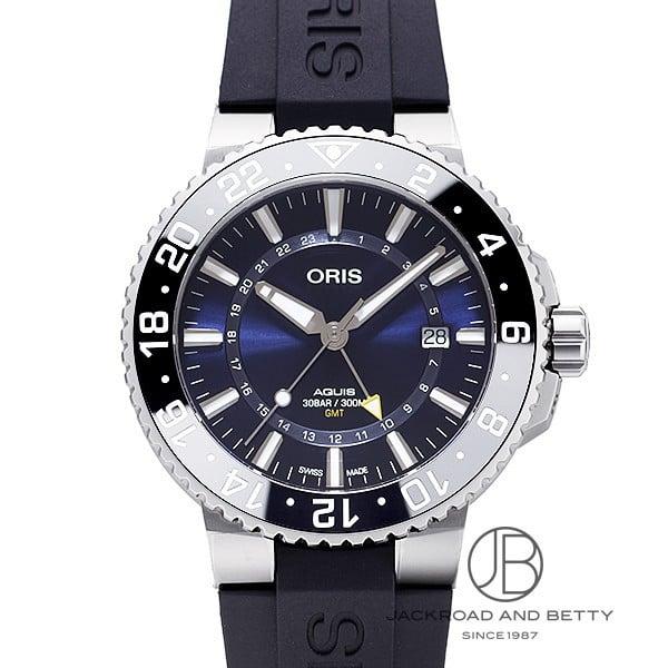 オリス ORIS アクイス GMT デイト 798 7754 4135R 新品 時計 メンズ