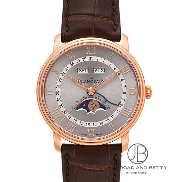 ブランパン BLANCPAIN ヴィルレ カンティエーム コンプリート カレンダー 6654-3613-55B 新品 時計 メンズ