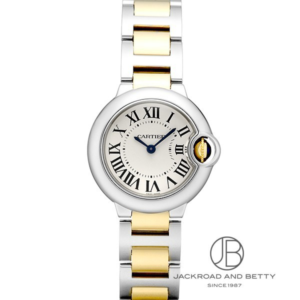 カルティエ CARTIER バロンブルー W69007Z3 新品 時計 レディース