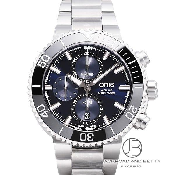 オリス ORIS アクイス クロノグラフ 774 7743 4155M 新品 時計 メンズ