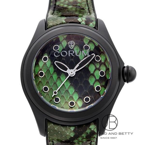 コルム CORUM バブル 47 パイソン グリーン リミテッド 082.310.98/0337 PV01 新品 時計 男女兼用