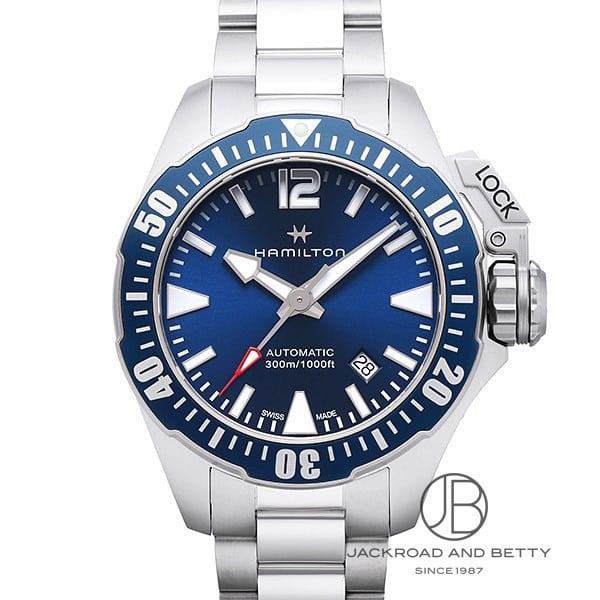 ハミルトン HAMILTON カーキ ネイビー フロッグマン H77705145 新品 時計 メンズ