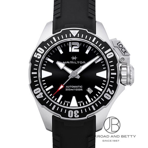 ハミルトン HAMILTON カーキ ネイビー フロッグマン H77605335 新品 時計 メンズ