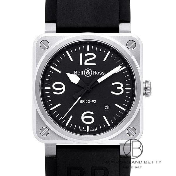 ベル&ロス BELL&ROSS BR03-92 BR0392-BL-ST/SRB 【新品】 時計 メンズ