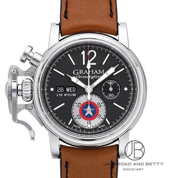 グラハム GRAHAM クロノファイター ヴィンテージ キャプテン・アメリカ リミテッド 2CVAS.B14A 新品 時計 メンズ