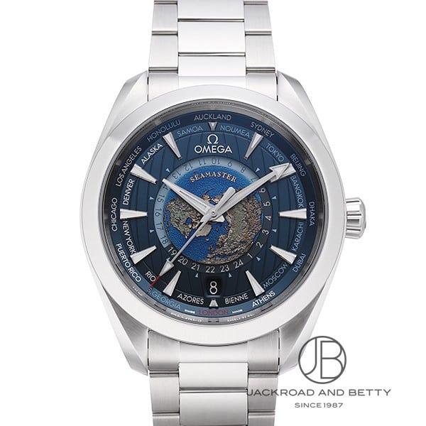 オメガ OMEGA シーマスター アクアテラ GMT メンズ 時計 永遠の定番 ワールドタイマー 新品 220.10.43.22.03.001 優先配送
