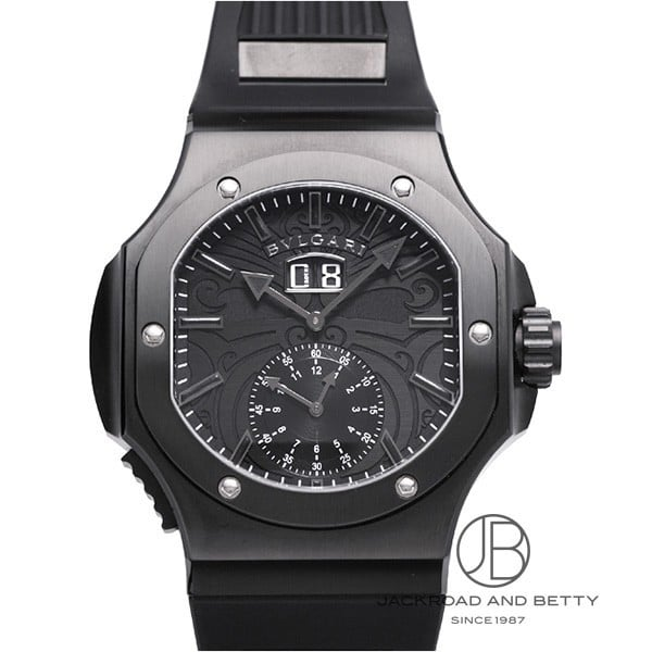 ブルガリ BVLGARI クロノスプリント ダニエル・ロート オール・ブラックス BRE56BSBLDCHS/AB 新品 時計 メンズ