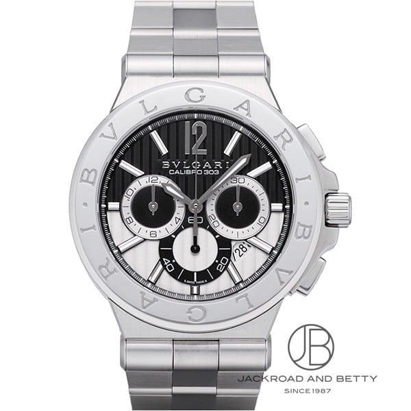 ブルガリ BVLGARI ディアゴノ キャリブロ 303 クロノグラフ DG42BSSDCH 【新品】 時計 メンズ