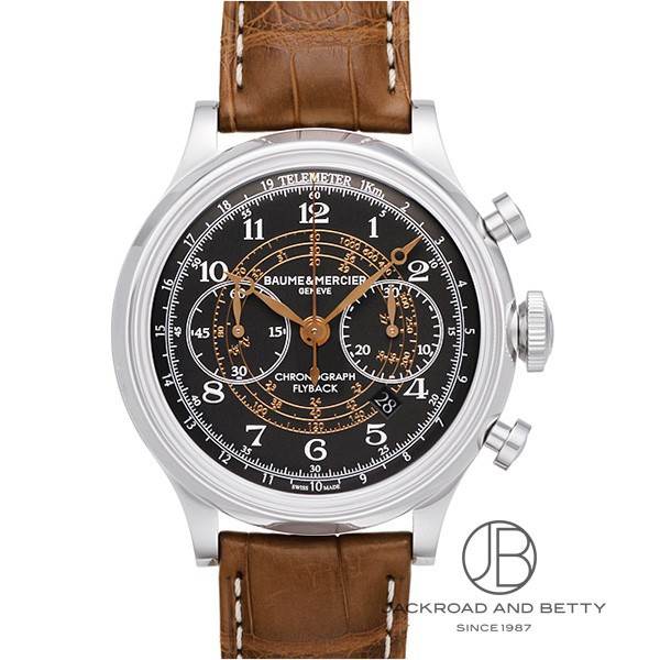 ボーム&メルシェ BAUME&MERCIER ケープランド フライバック クロノグラフ MOA10068 新品 時計 メンズ