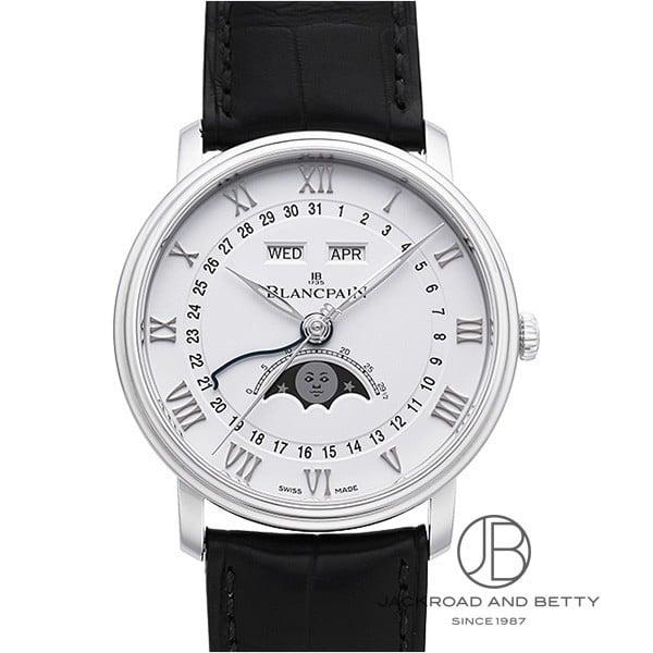 ブランパン BLANCPAIN ヴィルレ ムーンフェイズ & コンプリート カレンダー 6654-1127-55B 新品 時計 メンズ