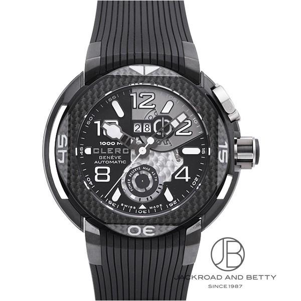クレール CLERC ハイドロスカフ チタン ビッグデイト HY-PR-212 新品 時計 メンズ