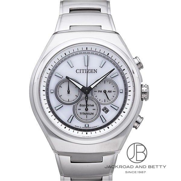 シチズン CITIZEN エコドライブ チタニウム クロノグラフ CA4021-51A 新品 時計 メンズ