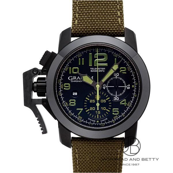 グラハム GRAHAM クロノファイター オーバーサイズ アマゾニア・グリーン 2CCAU.G01A.T15N 【新品】 時計 メンズ
