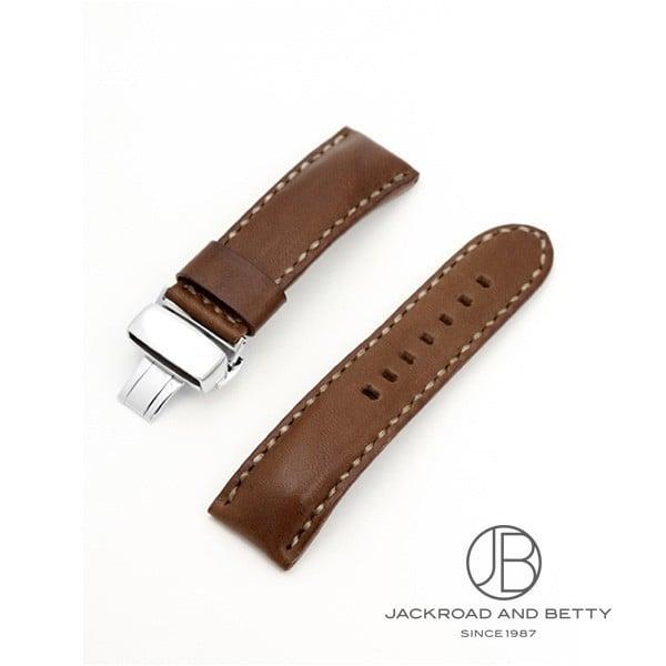 ジャックロード Jackroad パネライ用・オリジナル革ベルト22mm(既製Dバックル仕様) jkd022 新品 その他
