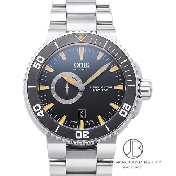 オリス ORIS アクイス スモールセコンド デイト 743 7673 4159M 【新品】 時計 メンズ