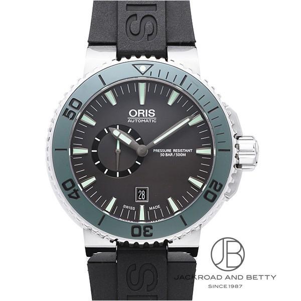 オリス ORIS アクイス スモールセコンド デイト 743 7673 4157R 【新品】 時計 メンズ