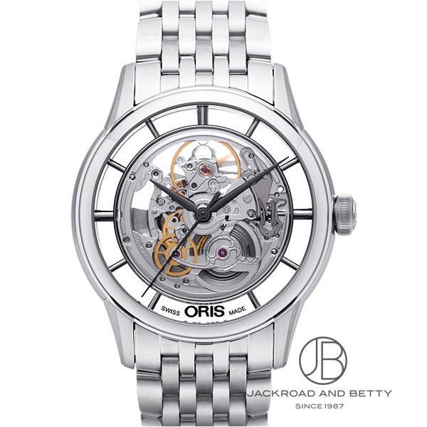 オリス ORIS アートリエ トランスルーセント スケルトン 734 7684 4051M 新品 時計 メンズ
