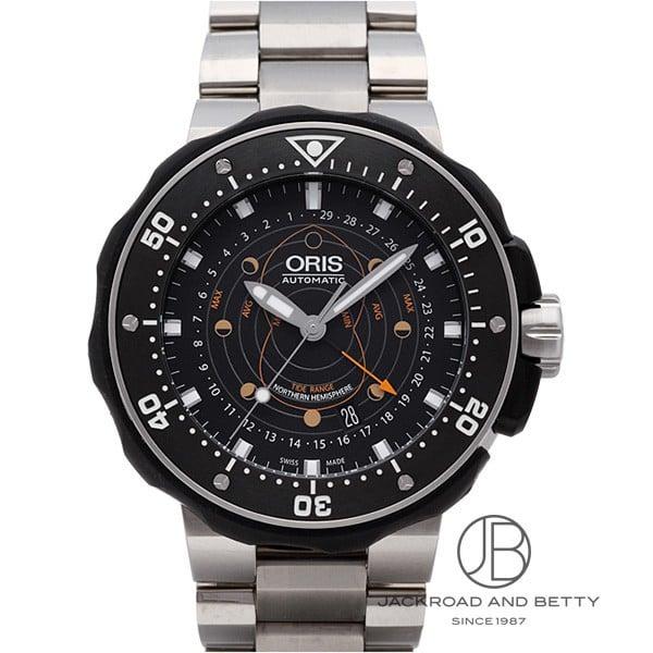オリス ORIS プロダイバー ポインタームーン 761 7682 7154M 【新品】 時計 メンズ