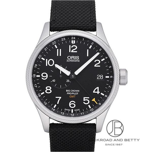 オリス ORIS ビッグクラウン プロパイロット GMT スモールセコンド 748 7710 4164DC 【新品】 時計 メンズ