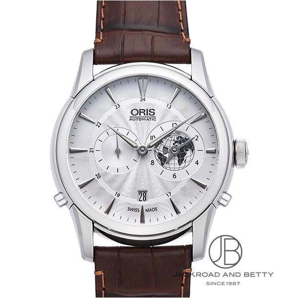 オリス ORIS アートリエ グリニッジ ミーンタイム リミテッド 690 7690 4081D 新品 時計 メンズ