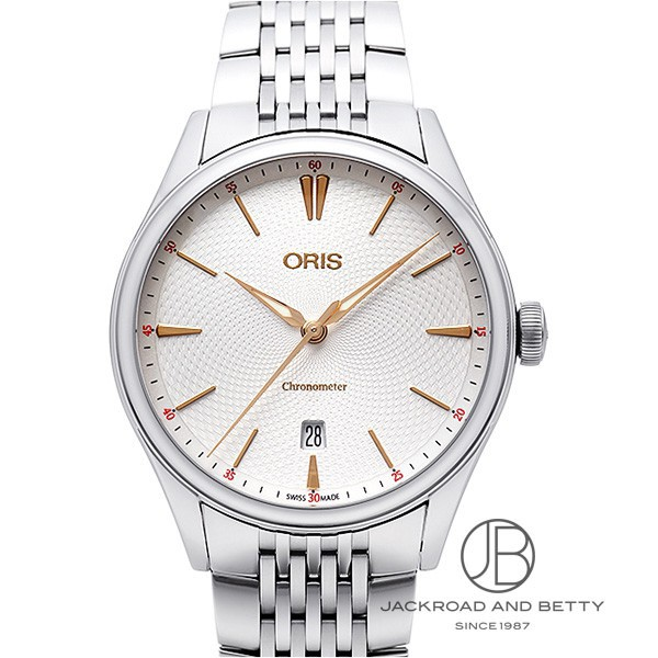オリス ORIS アートリエ クロノメーター デイト 737 7721 4031 【新品】 時計 メンズ