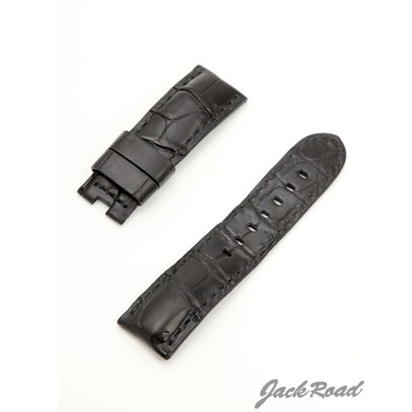 ジャックロード Jackroad パネライ用・オリジナル革ベルト22mm(純正Dバックル仕様) jnd011