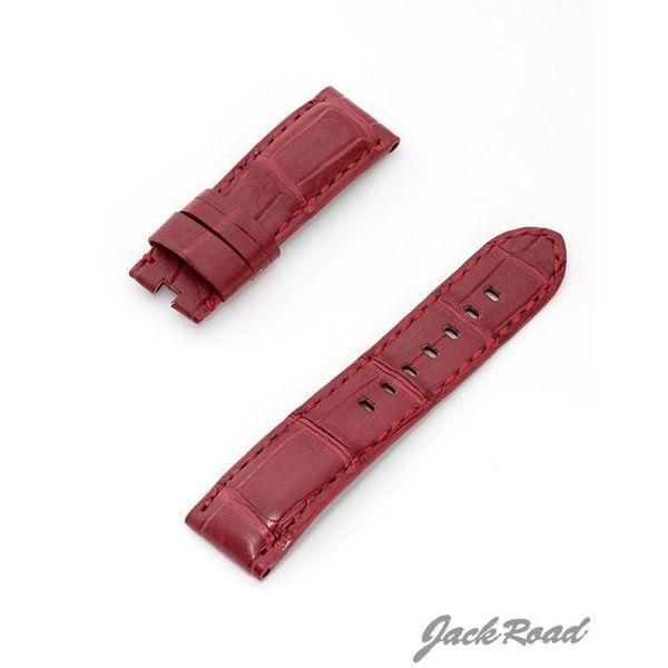 ジャックロード Jackroad パネライ用・オリジナル革ベルト22mm(純正Dバックル仕様) jnd013