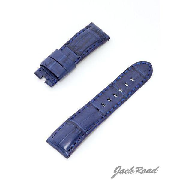 ジャックロード Jackroad パネライ用・オリジナル革ベルト22mm(純正Dバックル仕様) jnd014