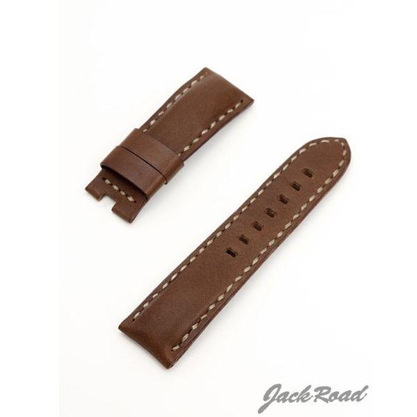 ジャックロード Jackroad パネライ用・オリジナル革ベルト22mm(純正Dバックル仕様) jnd022