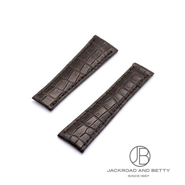 ジャックロード Jackroad ジャックロード デイトナ用 クロコダイル革ベルト 20mm jg009 新品 その他