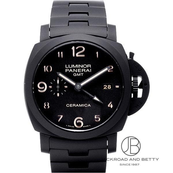 パネライ PANERAI ルミノール 1950 3デイズ GMT トゥットネロ PAM00438 新品 時計 メンズ