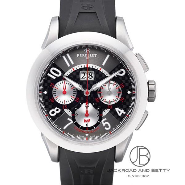 ペルレ PERRELET チタニウム・コレクション クロノ ビッグデイト A5003-1 新品 時計 メンズ