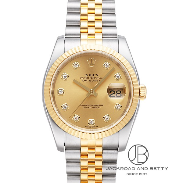 huge selection of 746d5 74f93 Rolex ROLEX date just 116233G new article clock men