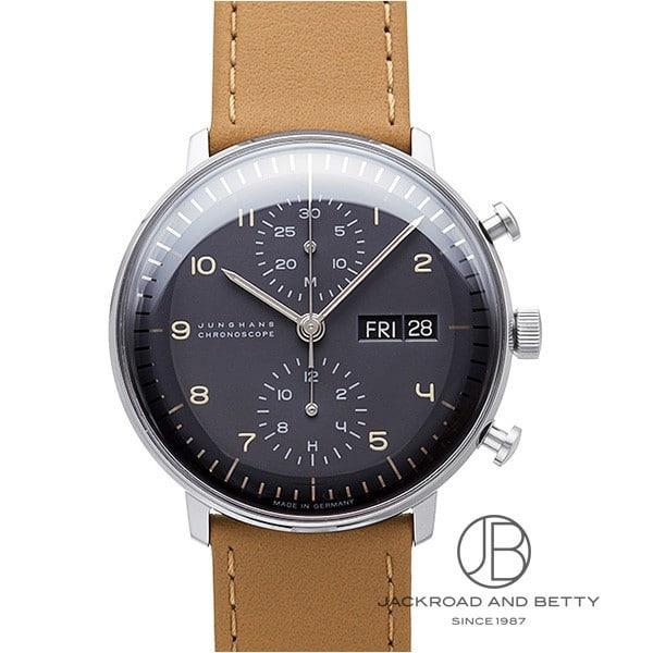 ユンハンス JUNGHANS マックスビル クロノスコープ 027/4501.01 【新品】 時計 メンズ